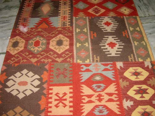 Flatwoven patch rug manufacturers